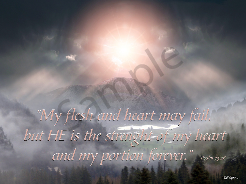 """Psalm 73"" by Bill Stephens | Prophetics Gallery"