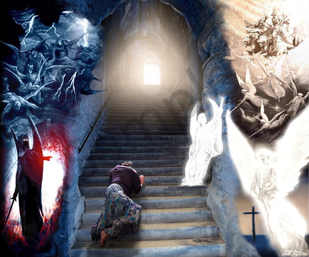 """Stairway To Heaven"" by Bill Stephens   Prophetics Gallery"