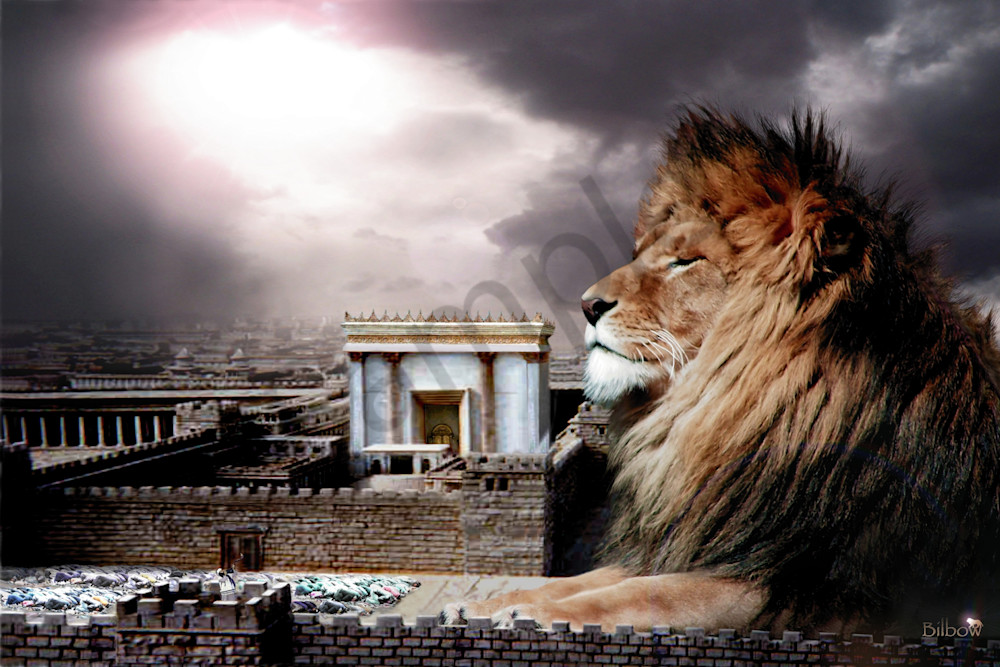 """""""Messiah In The Outer Court"""" by Bill Stephens   Prophetics Gallery"""