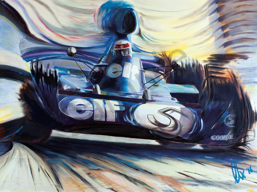 Jackie Stewart - Tyrrell-Ford 006.