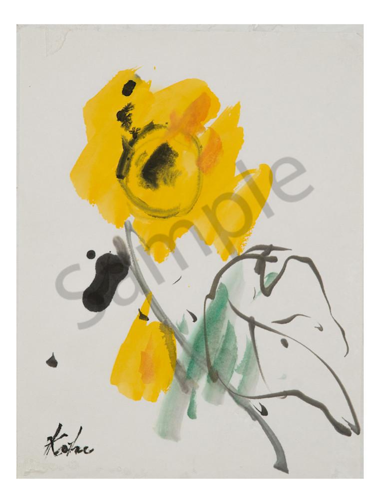 Flower Yellow Koho Yamamoto