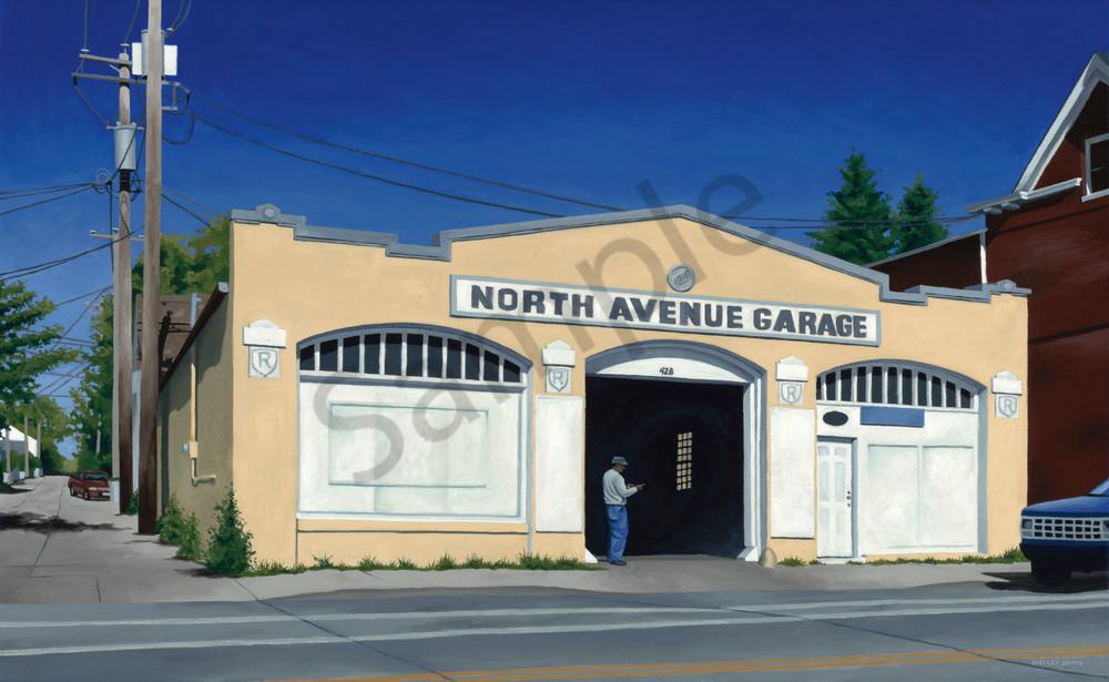 North Avenue Garage | Milwaukee, WI | Purchase Fine Art Print