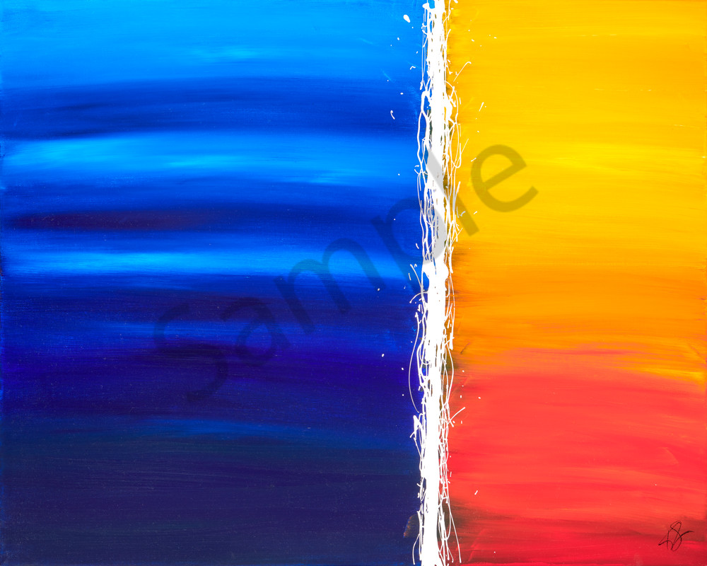 Blue Orange Fing