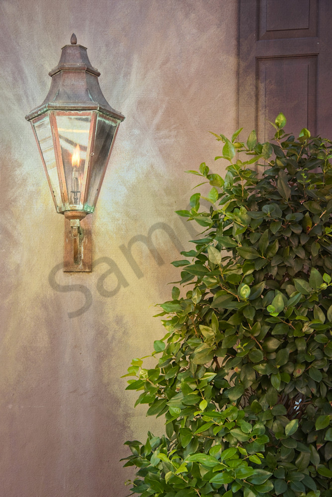 Historic Charleston Lantern Textured