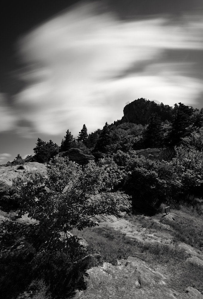 Grandfather Mountain Black and White
