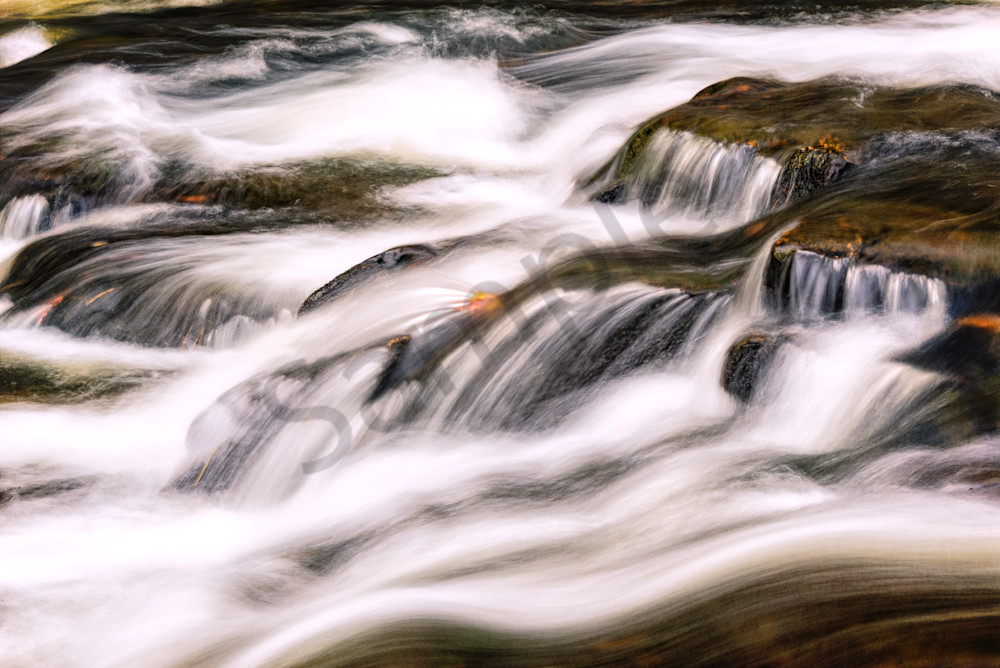 Rolling Water at Linville Falls