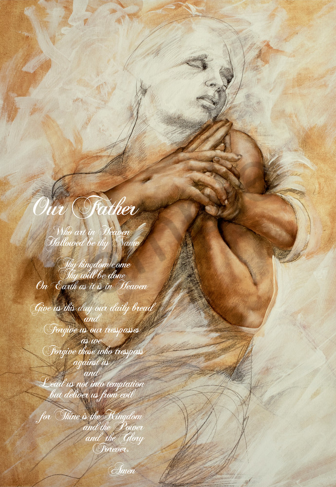 lord's-prayer, praying-hands, our-father, scripture, verse