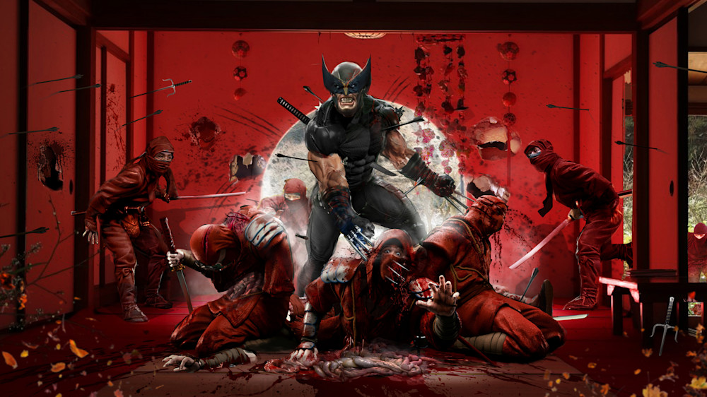 Wolverine vs the Hand Ninjas