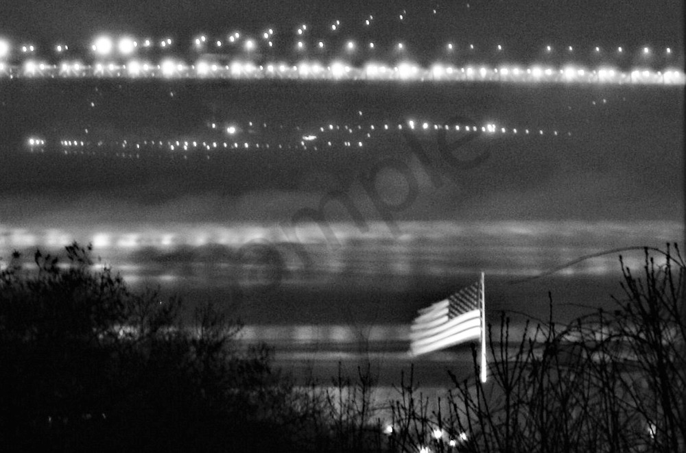 Flag On The Hudson Art | ARTHOUSEarts
