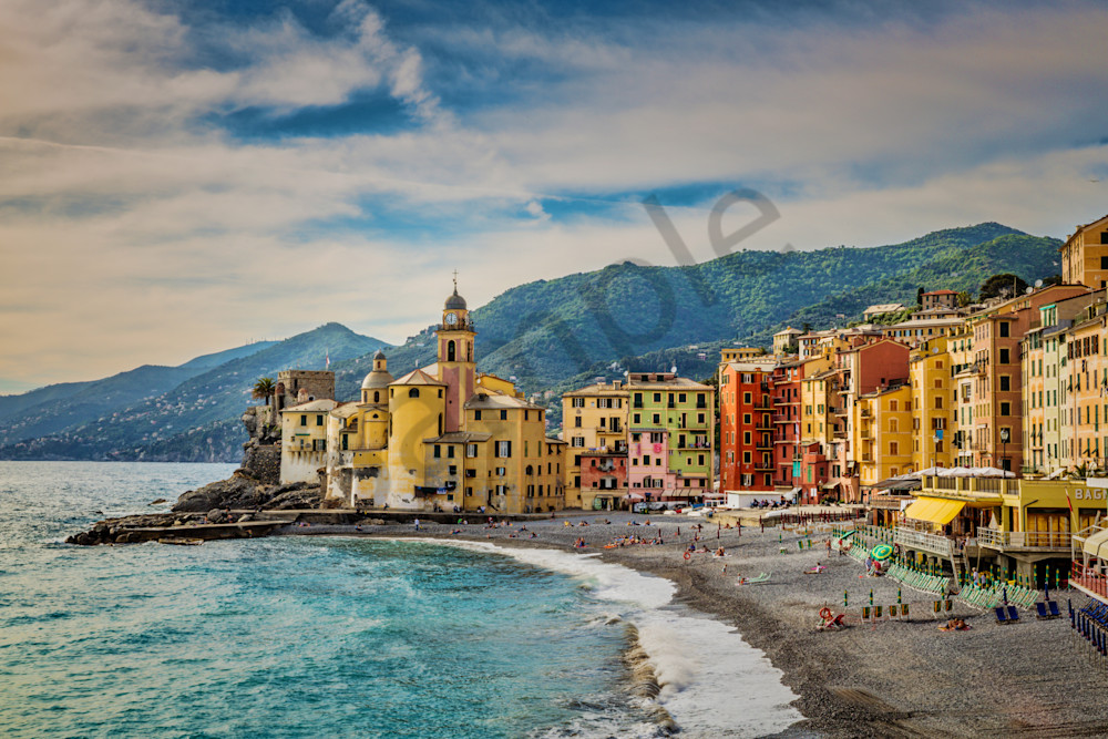 Camogli Morning 0492 Photography Art | Bridget Karam Photography
