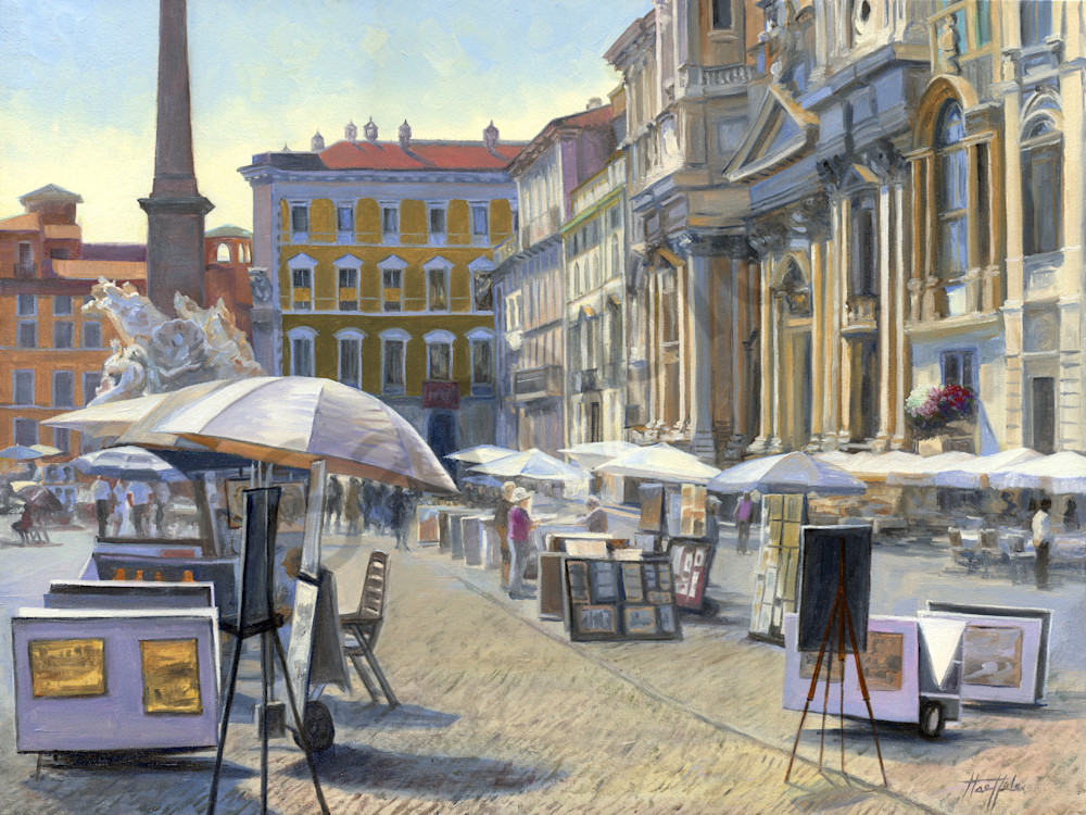 Making a Living on Piazza Navona