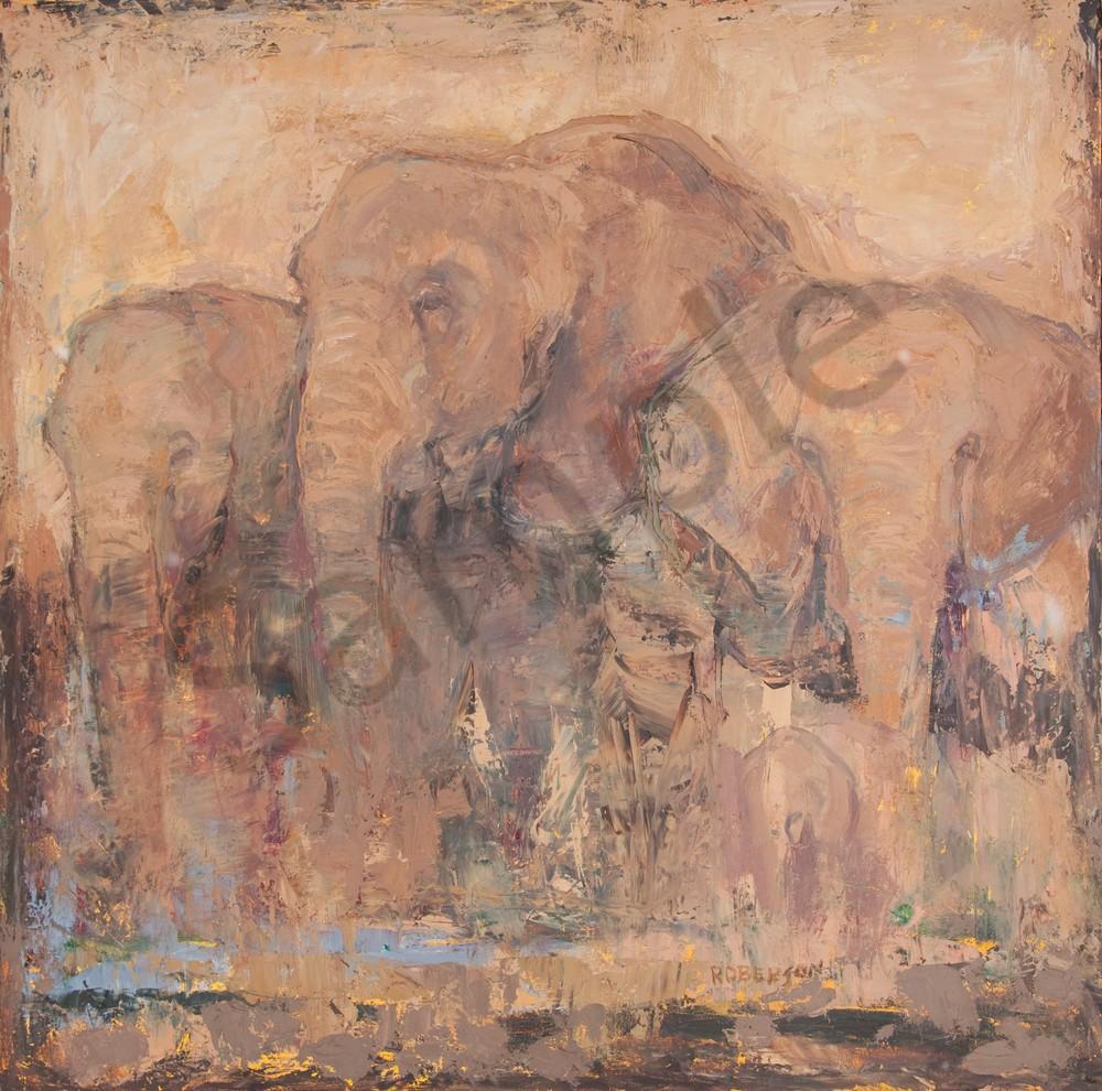 Near Kilamanjaro  Art | Mary Roberson