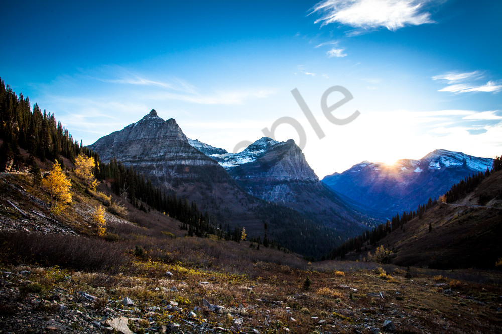 Montana Mountain Range