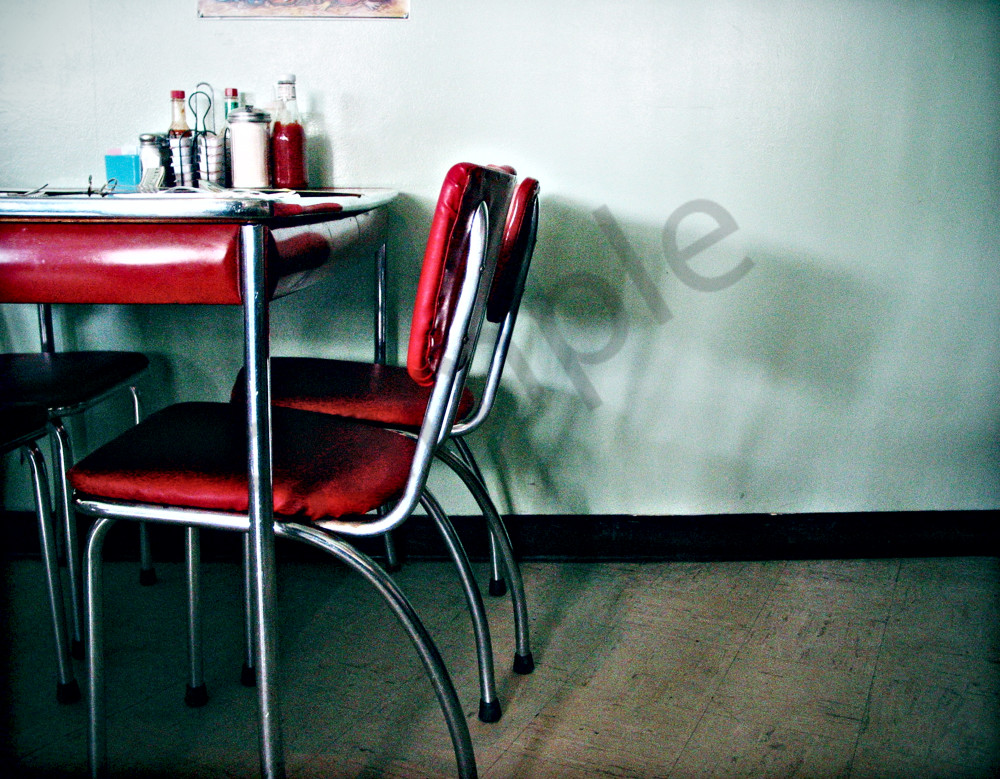 Diner Chairs Photography Art | seelikeshane
