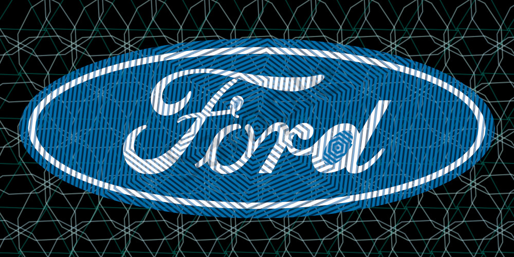 Ford Motor Company logo art, photographs, prints and canvas. Ford Wall art by peter mcclard at brilliancegallery.com