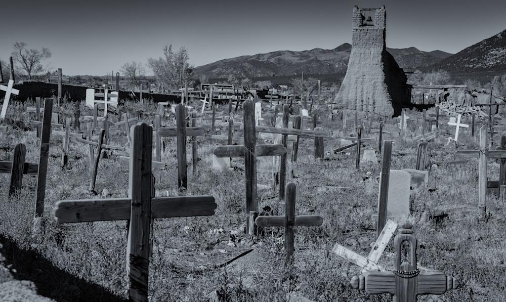 Cemetery - Taos Pueblo, New Mexico
