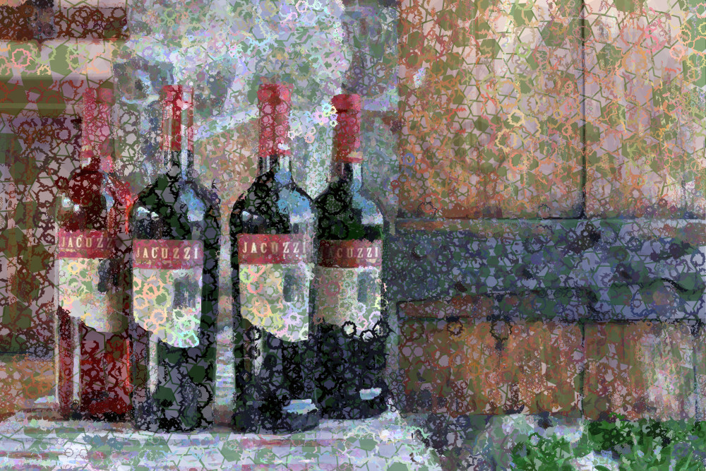 Jacuzzi Wine, pride of Sonoma Valley, California, USA. wine art, photographs,  prints, canvas, posters by Peter McClard at BrillianceGallery.com