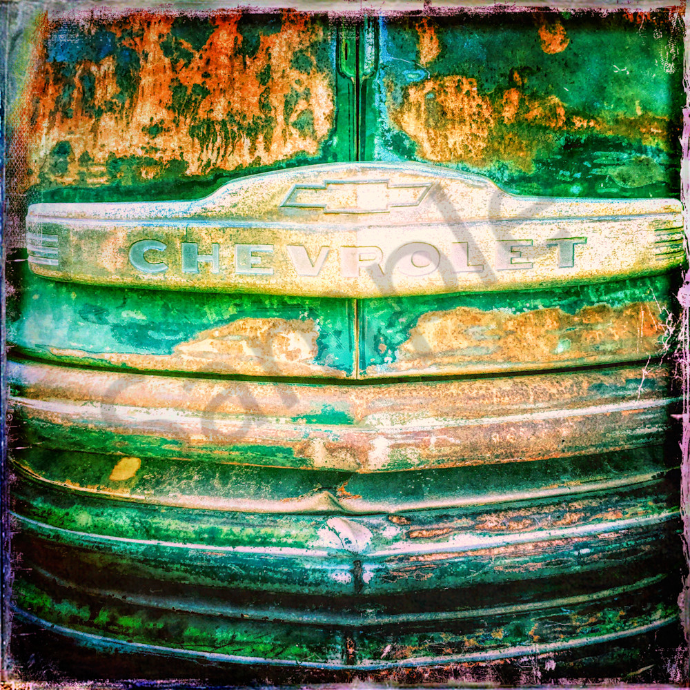 Old Rusty Chevy|Fine Art Photography by Todd Breitling