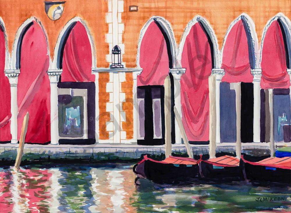 The Rialto Fish Markets in Venice.