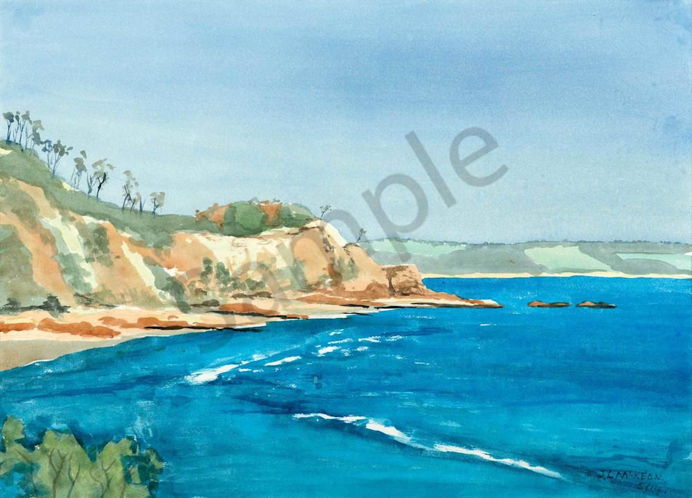 Rocky headland at Byron Bay, NSW.