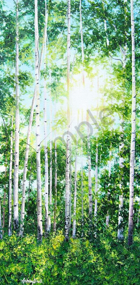 Tranquility Ii Art   Art by Ashley Dull