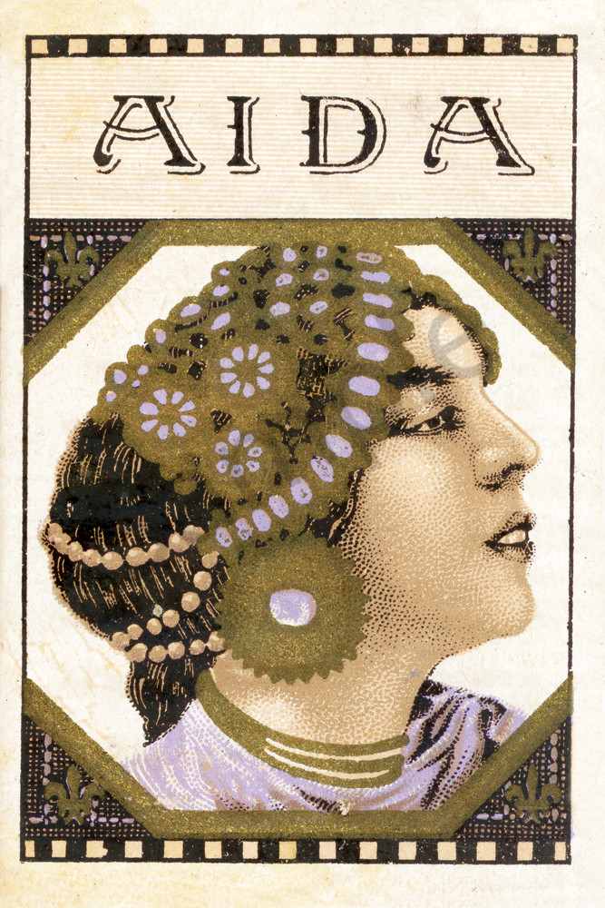 Aida:   Vintage Fine Art Reprint