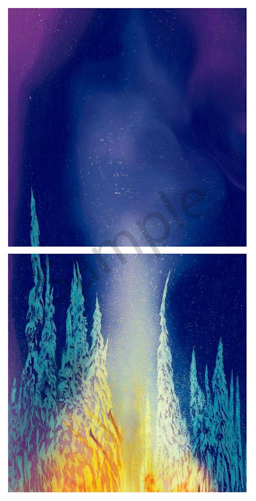Praise Be To Ullr's Mello Bellows  Art | shawn morris creative