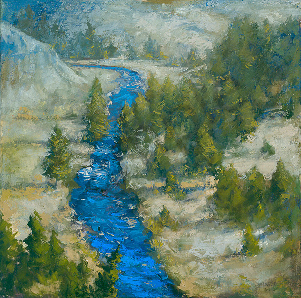 Blue River Art | Mary Roberson