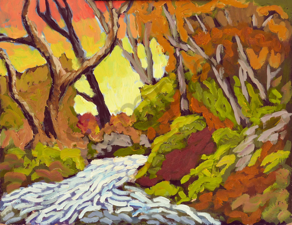 Sparkling Stream Art | Keith Thirgood