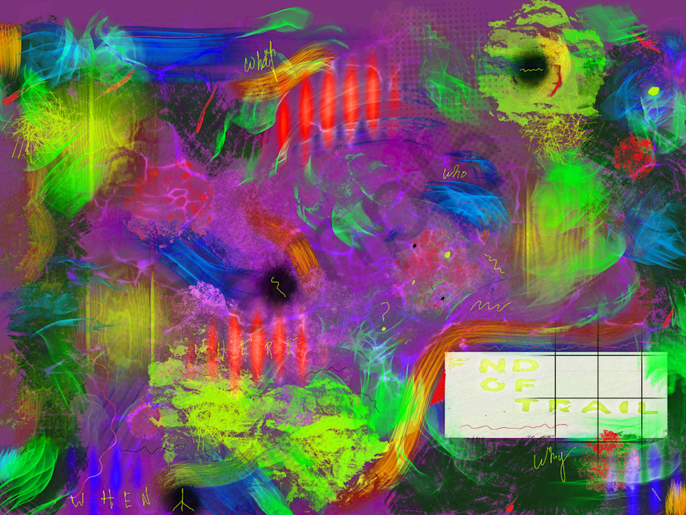 Clouded Memory Fine Art by Artist Todd Breitling