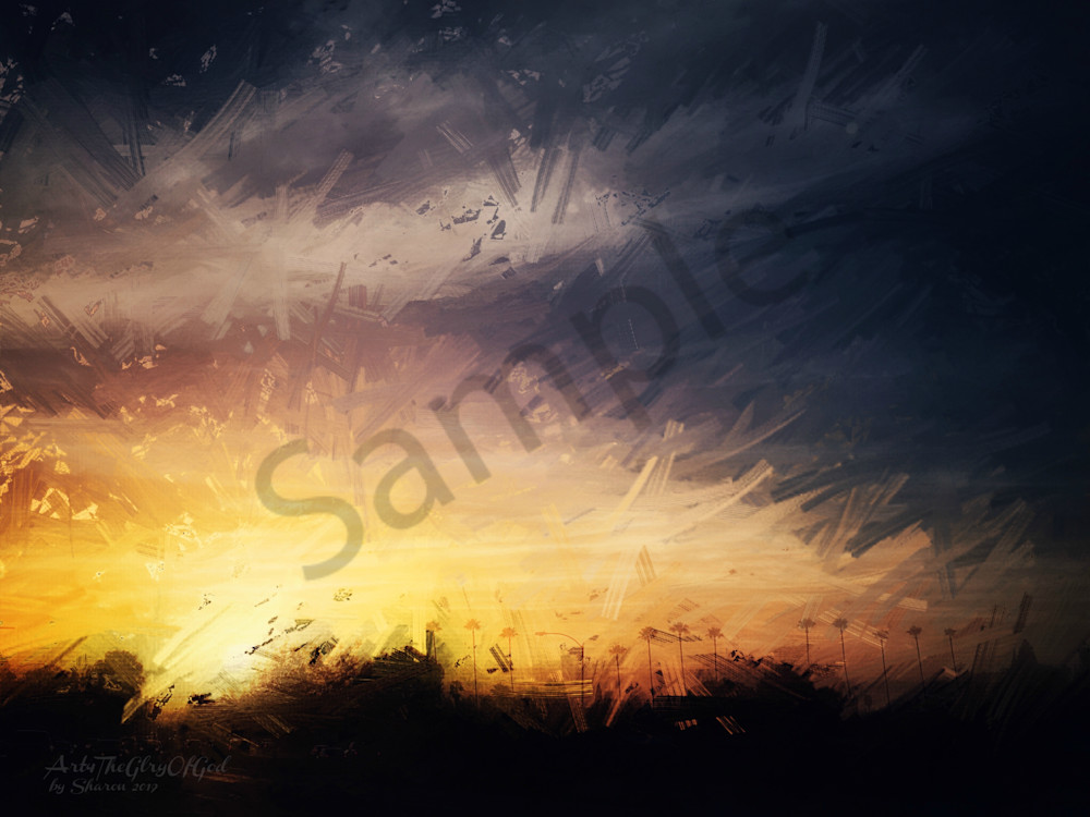 """God has Promised..."" - digital painting photograph"