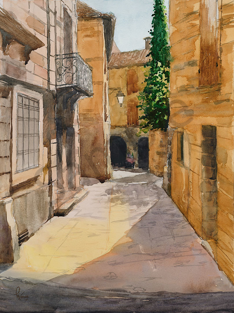 """French Alley"" fine art print by Matt Kapinos."
