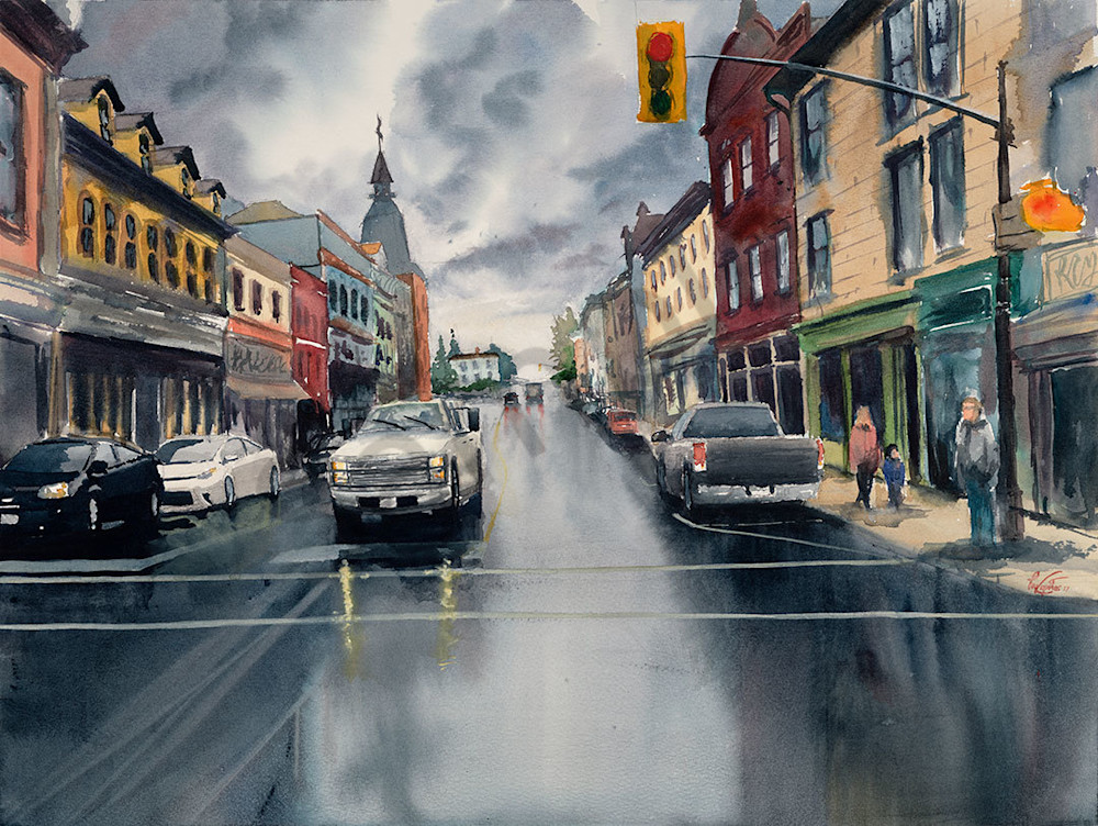 """Rainy Day"" fine art print by Matt Kapinos."