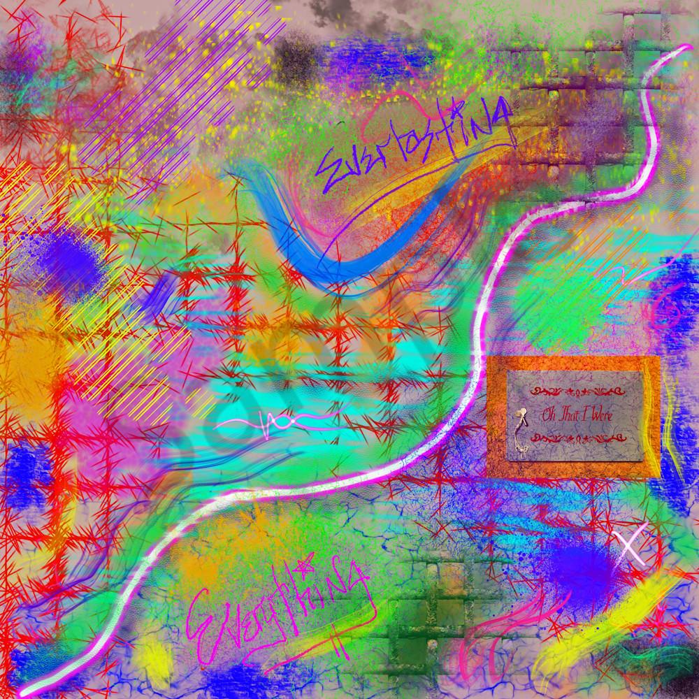 Everlasting Everything Digital Art by Todd Breitling