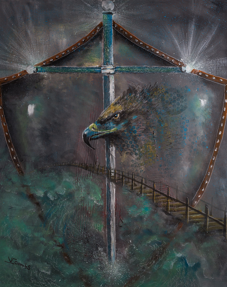 """""""The Watchman"""" by Yvonne Coombs   Prophetics Gallery"""