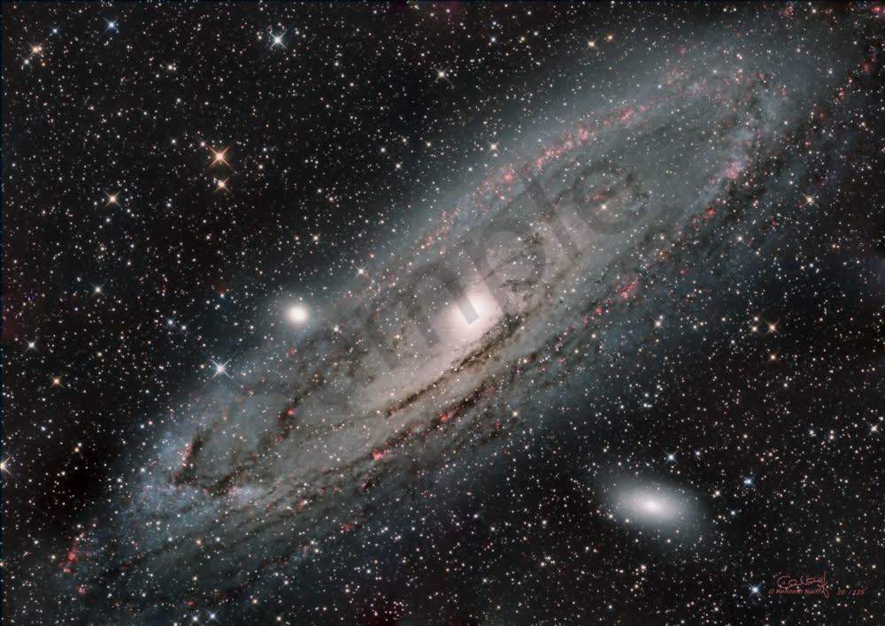 Andromeda Galaxy Photography Art | Dark Sky Images