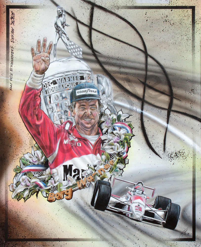 Rick Mears 1991 Indianapolis 500