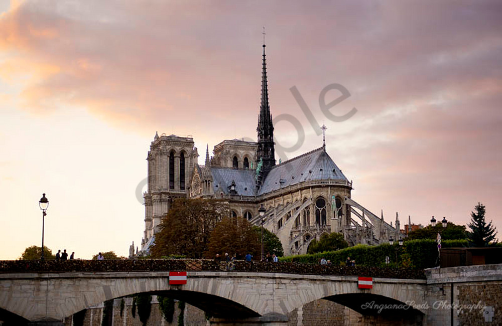 Fine art photograph of the Notre Dame Cathedral for sale as fine art print by Ivy Ho