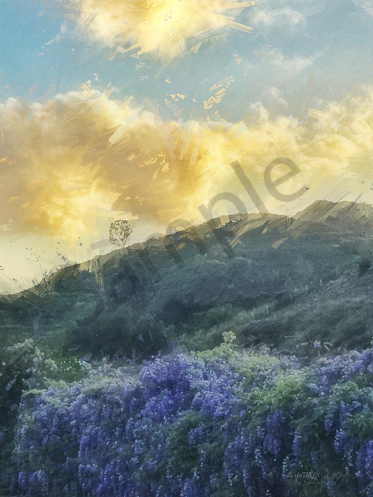 """Harvest Through Perseverance..."" - digital painting photograph"