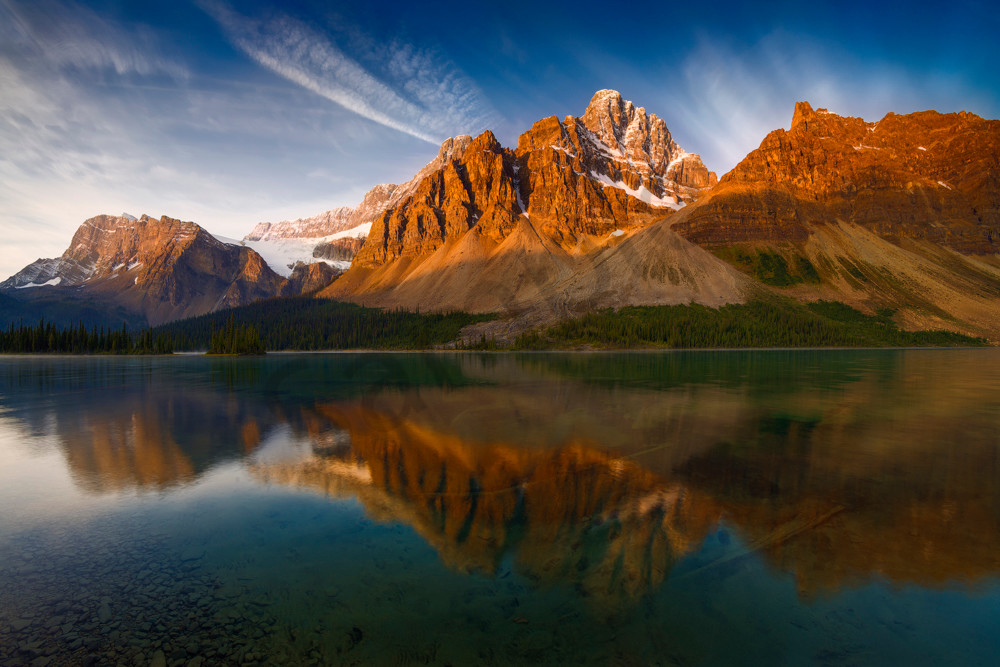 Waking with Crowfoot. Banff National Park|Canadian Rockies| Rocky Mountains)