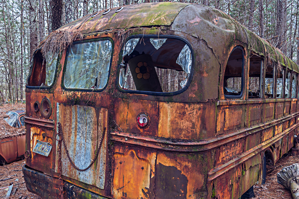 Old Car City Bus | Susan J Fine-Art Photography