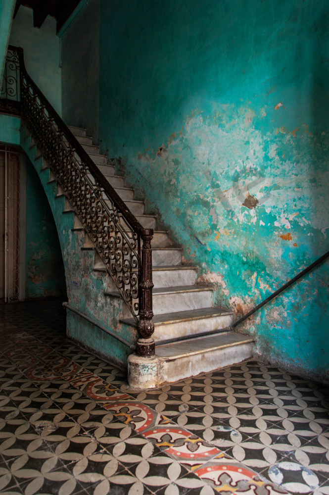 Havana Stairway: Photographs of Cuba by Photographer Shane O'Donnell