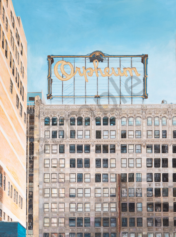 Orpheum:  Shop Fine Art reprints of Original Paintings by Shane O'Donnell