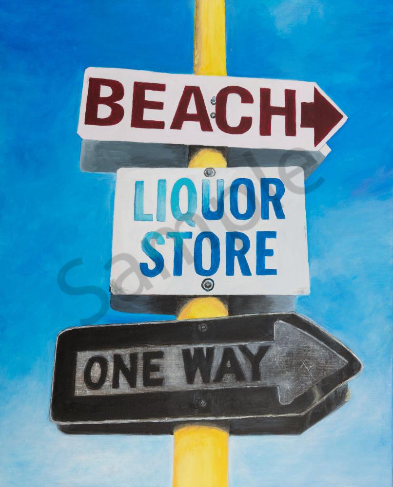 Beach Liquor Store One Way