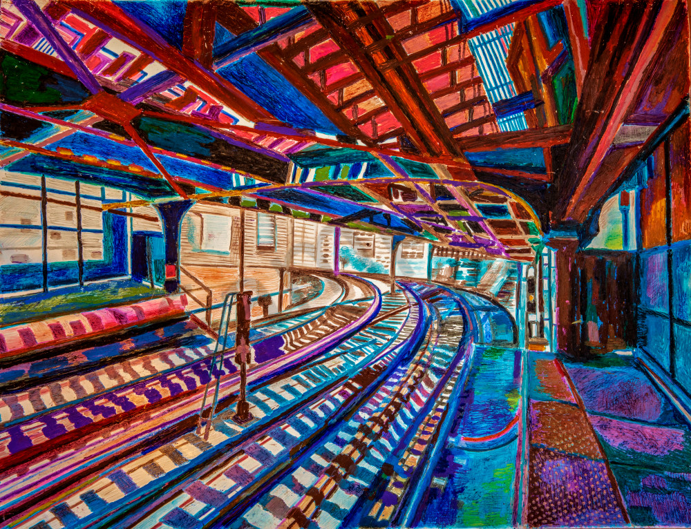 THE FAUVIST BROOKLYN SUBWAY