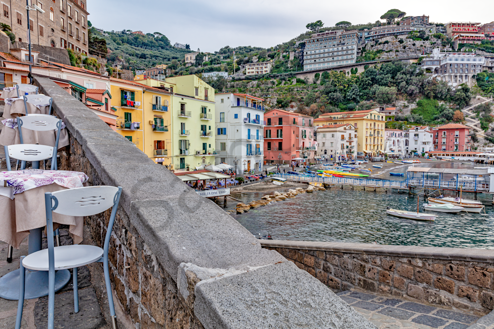 Mediterranean, Coastal Town, Piazza Tasso, Bay of Naples, Amalfi Peninsula