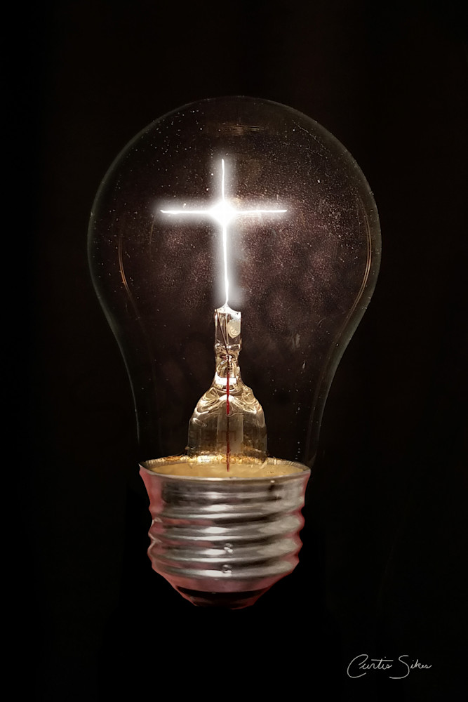 """""""The Light Of Life"""" by North Carolina digital artist Curtis Sikes / Prophetics Gallery"""