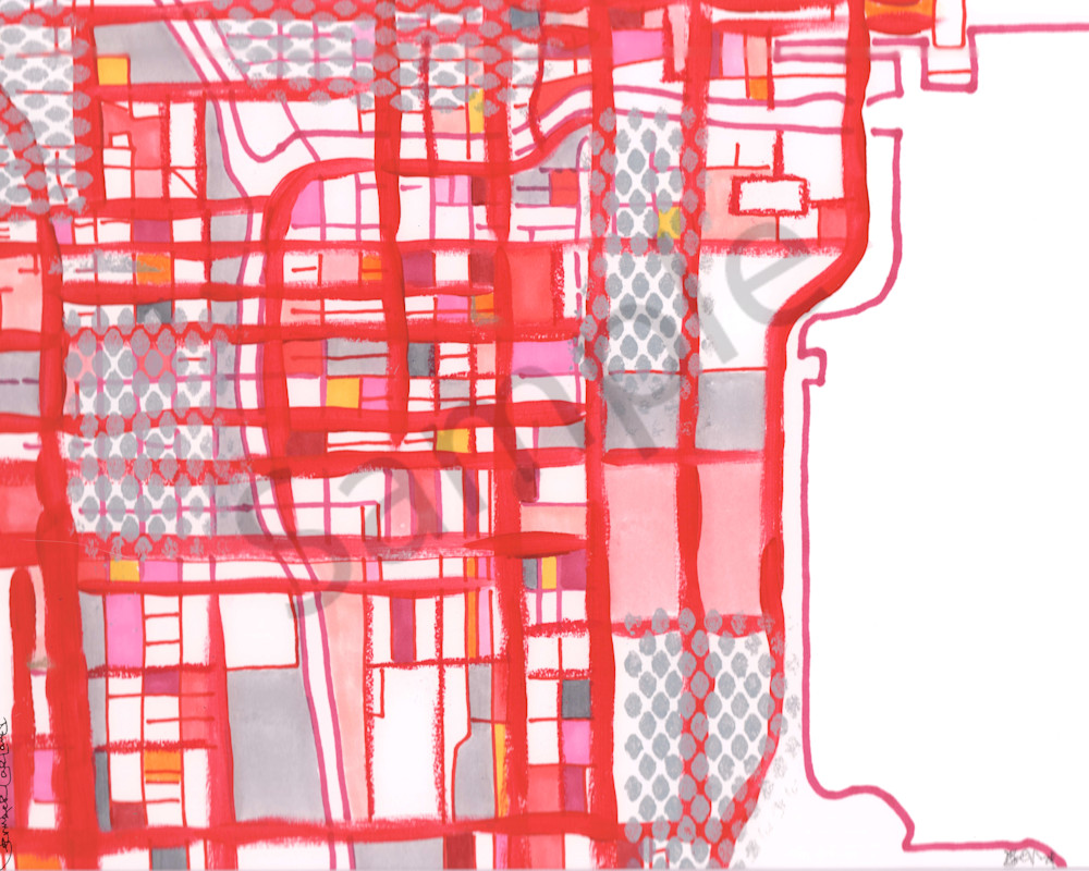 Modern Map Art of Chicago – Abstract City Map of Chicago Loop. Purchase on lincoln park, grant park, downtown chicago map, trump international hotel and tower, south chicago, chicago transit maps, east side, millennium park, chicago map glenview, navy pier, edgewater chicago map, willis tower, cook county map, chicago transit authority, lincoln park map, chicago subway map, hyde park map, chicago streeterville map, grant park map, chicago tourist map, chicago museum map, logan square, chicago street map, magnificent mile, university of chicago, chicago union station map, chicago on the map, hyde park, michigan avenue map, magnificent mile map, wabash and wacker chicago map, blue line stops chicago map,