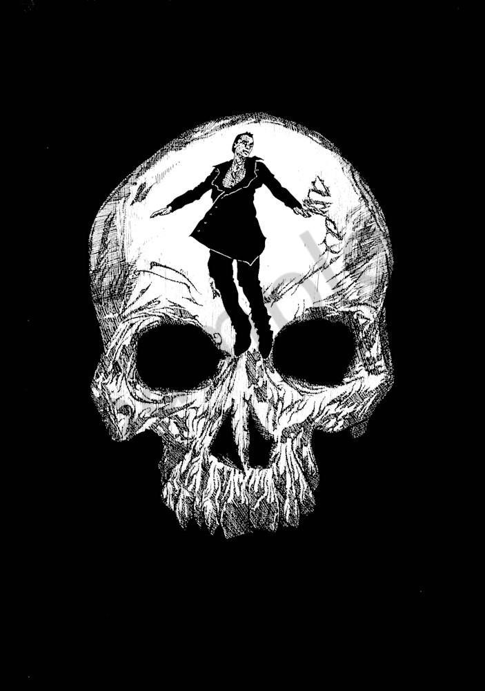 Scaryopolis Films Original Logo Illustration