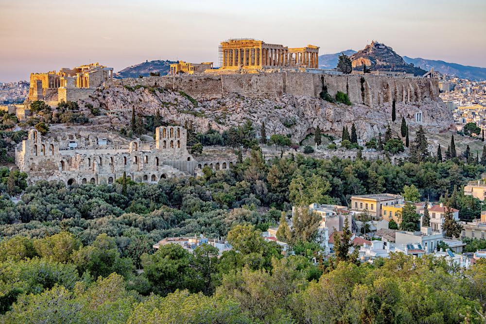 Athenian Acropolis, Parthenon, Greek Mythology, Greek Empire